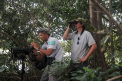 Gardes de la réserve naturelle Amana - Parc naturel régional de la Guyane